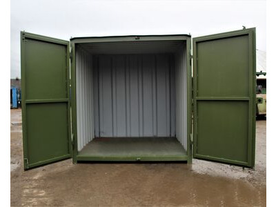 SHIPPING CONTAINERS 6ft S1 doors HL6S103 click to zoom image