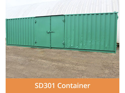 SHIPPING CONTAINERS 30ft side access SD301