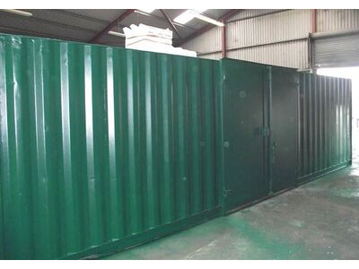 SHIPPING CONTAINERS 30ft side doors and grafotherm SC35