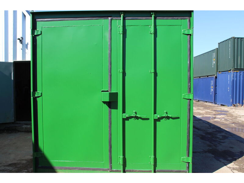 12ft Second Hand Shipping Containers 12ft Used Container - S3 Doors click to zoom image