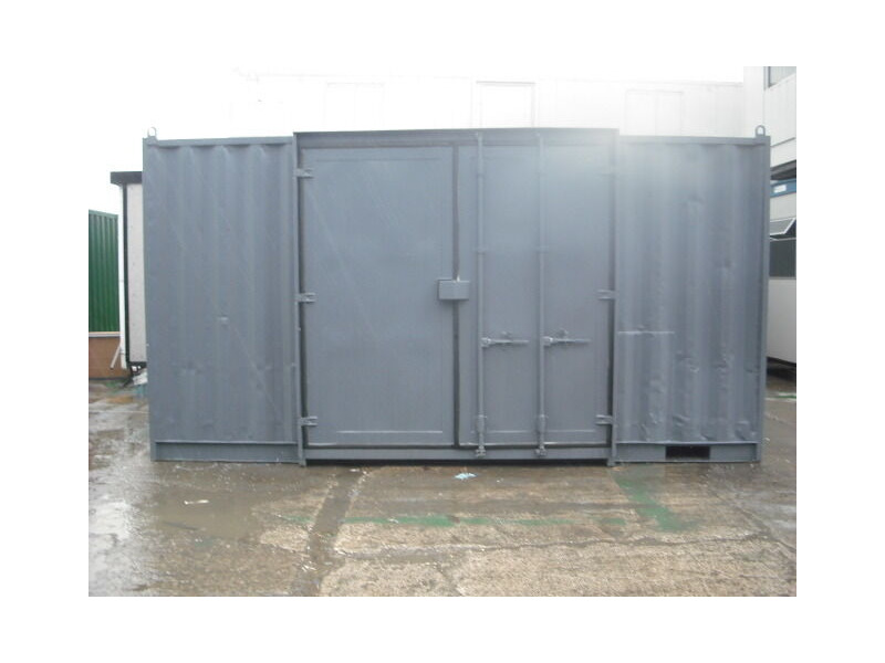 SHIPPING CONTAINERS 15FT SIDE DOOR S3 click to zoom image