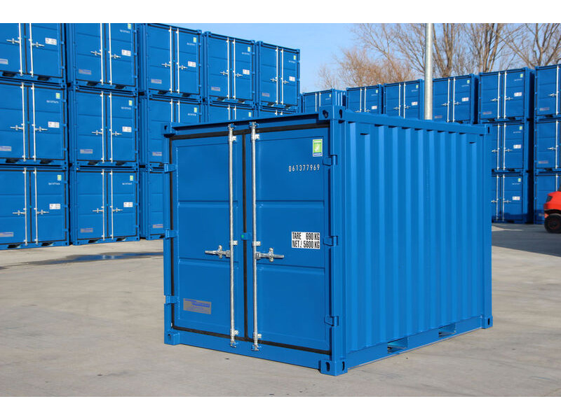 SHIPPING CONTAINERS 8ft steel store CX08 Grangemouth, Scotland click to zoom image