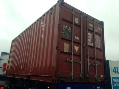 SHIPPING CONTAINERS 20ft Furniture Grade container