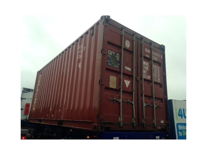 SHIPPING CONTAINERS 20ft Furniture Grade container click to zoom image