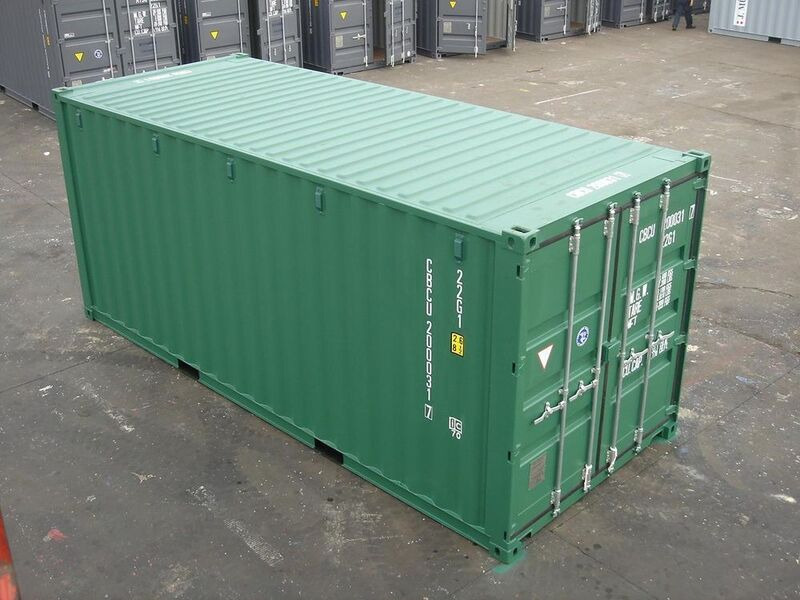 SHIPPING CONTAINERS 20ft full spec SC50 click to zoom image