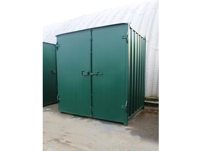 SHIPPING CONTAINERS 5ft x 8ft steel container S1 click to zoom image