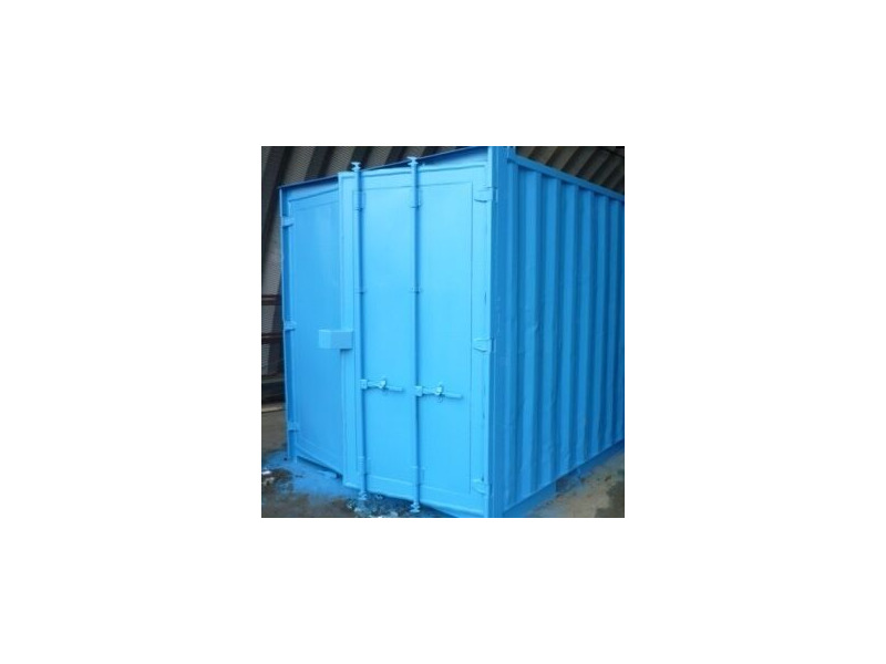 SHIPPING CONTAINERS 6ft x 8ft steel container S3 click to zoom image