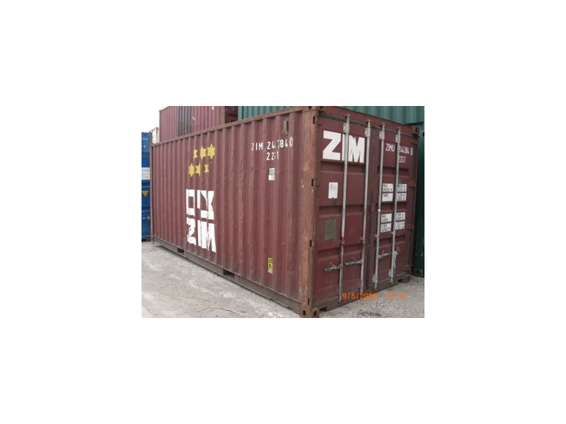 SHIPPING CONTAINERS 20ft original doors SC53 click to zoom image