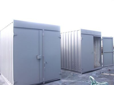 SHIPPING CONTAINERS 10ft high cube tunnel-tainer SC58
