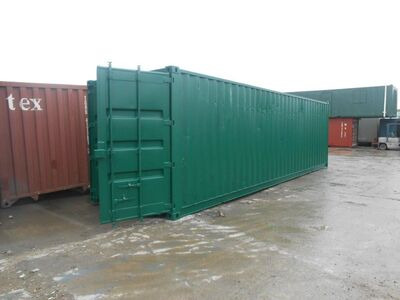 SHIPPING CONTAINERS 30ft personnel door SC74