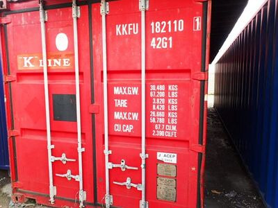 SHIPPING CONTAINERS 40ft ISO 45271