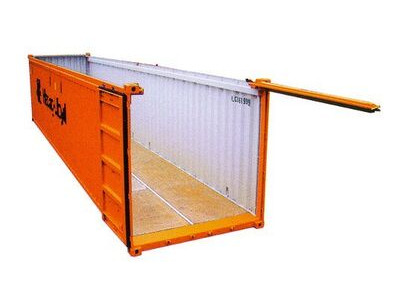 SHIPPING CONTAINERS 20ft Open-top container SC82 click to zoom image