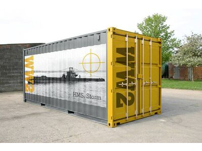 SHIPPING CONTAINERS Personalised container stickers click to zoom image