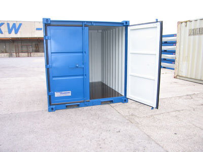 SHIPPING CONTAINERS 8ft steel store CX08