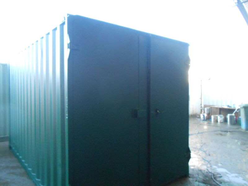 SHIPPING CONTAINERS 15ft S1 doors 33532 click to zoom image