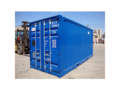 SHIPPING CONTAINERS 20ft Blue 15867