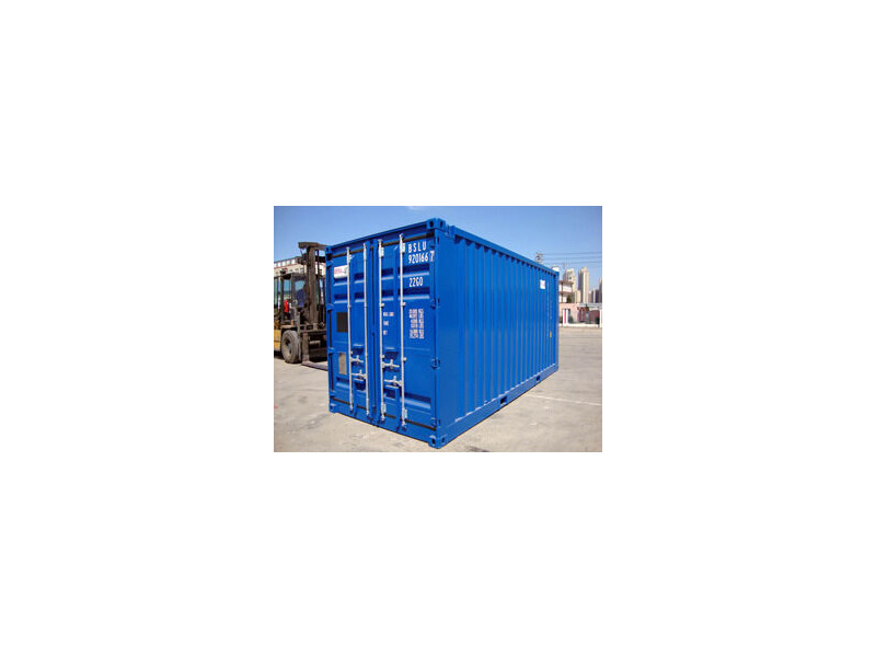SHIPPING CONTAINERS 20ft Blue 15867 click to zoom image
