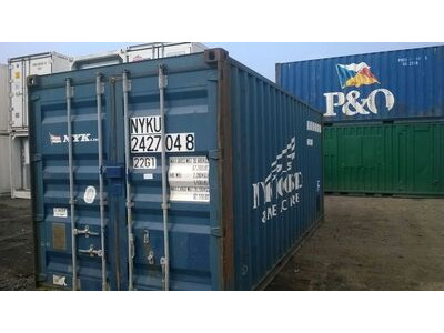 SHIPPING CONTAINERS 20ft original doors 12202