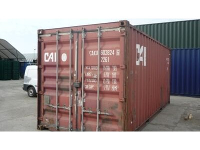 SHIPPING CONTAINERS 20ft S2 doors 65631