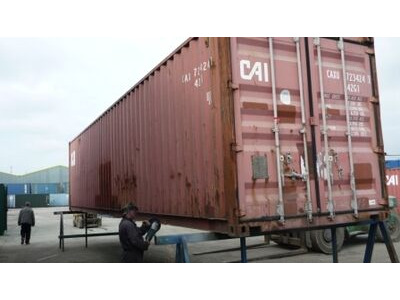 SHIPPING CONTAINERS 40ft original doors 45711