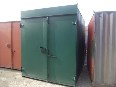 SHIPPING CONTAINERS 10ft high cube S1 doors 28960