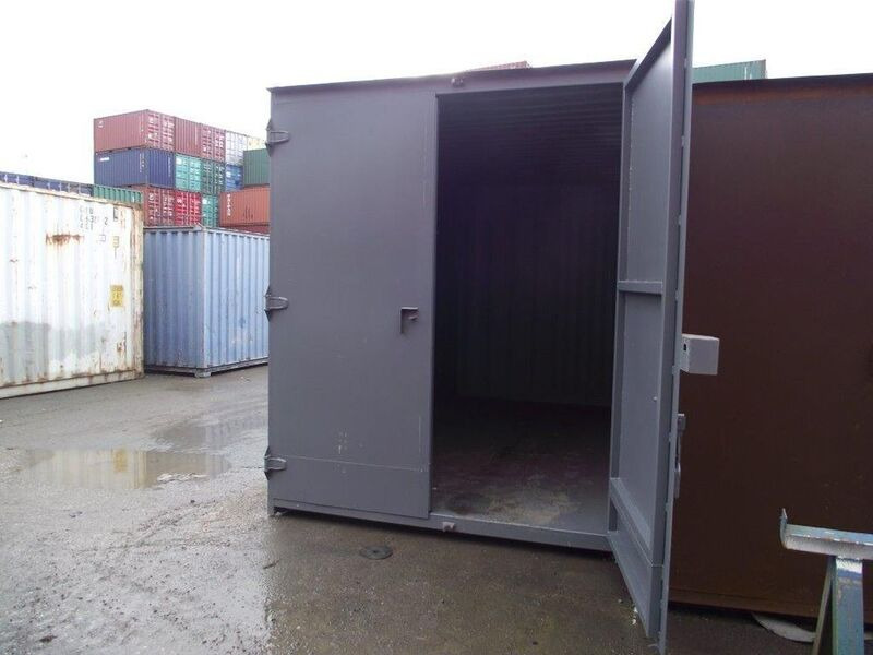 SHIPPING CONTAINERS 16ft high cube S1 doors 15872 click to zoom image