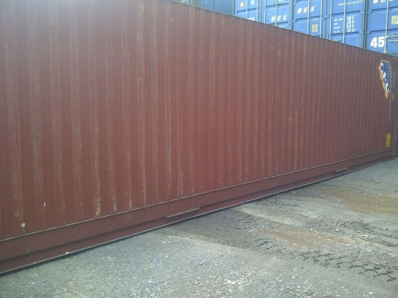 SHIPPING CONTAINERS 40ft high cube 62164 click to zoom image