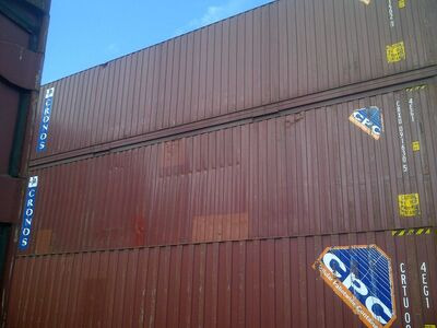 SHIPPING CONTAINERS 40ft ISO 20053