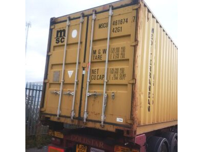 SHIPPING CONTAINERS 40ft original 43572
