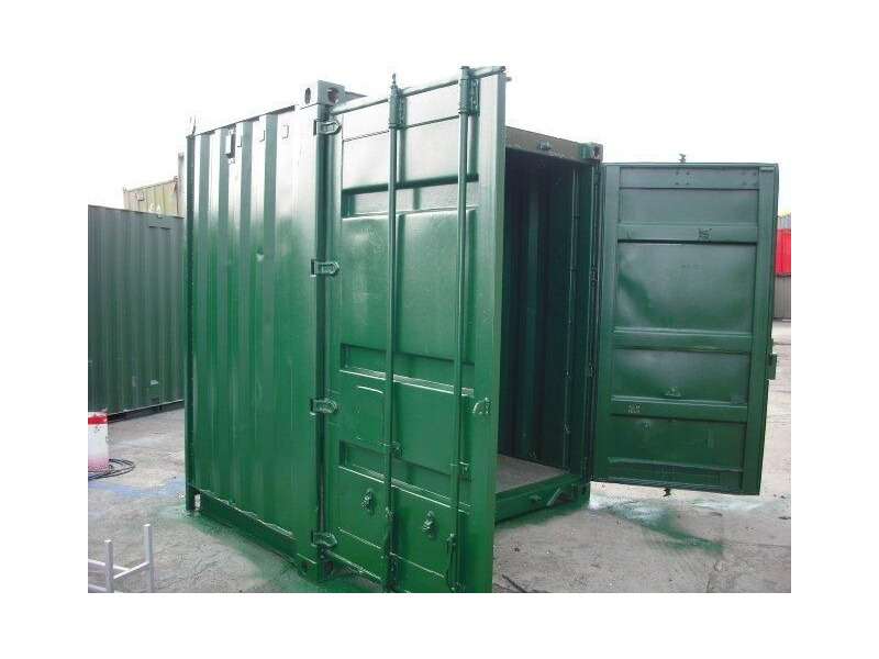 SHIPPING CONTAINERS 6ft S2 doors click to zoom image