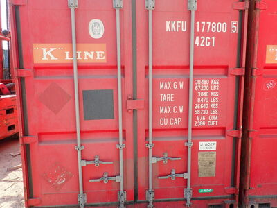 SHIPPING CONTAINERS 40ft original 46140