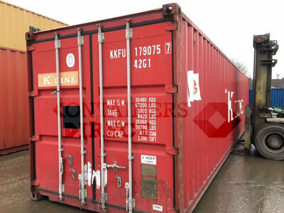 SHIPPING CONTAINERS 40ft original 64103