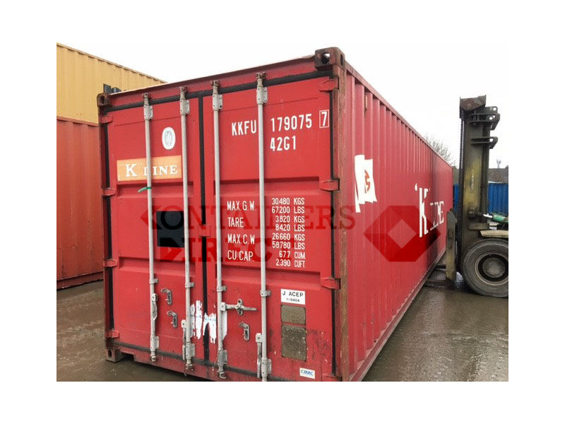 SHIPPING CONTAINERS 40ft original 64103 click to zoom image