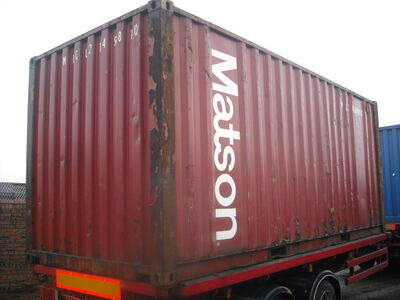 SHIPPING CONTAINERS 20ft original 23960