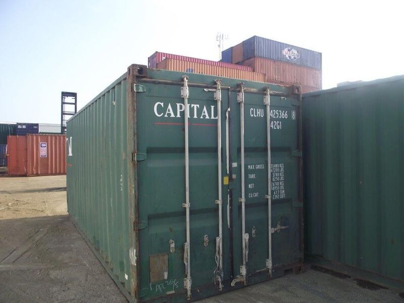 SHIPPING CONTAINERS 20ft S2 doors 16643 click to zoom image