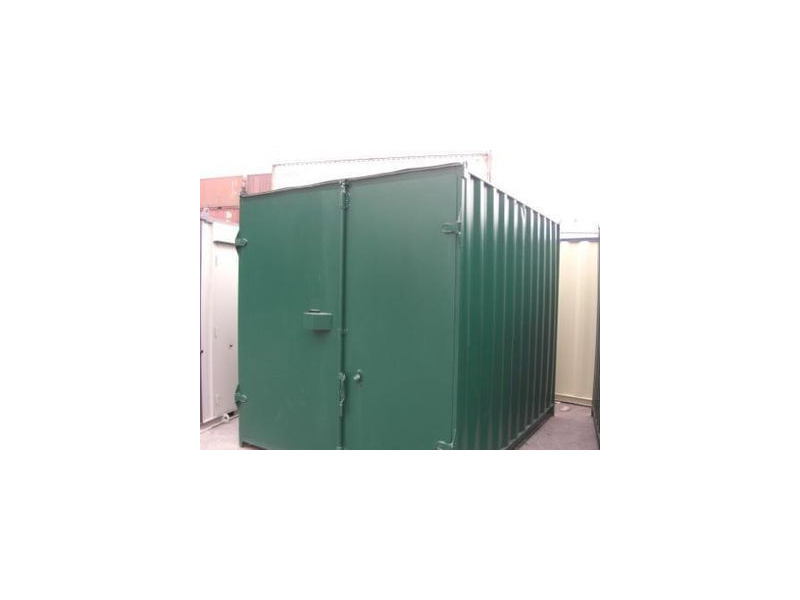 SHIPPING CONTAINERS 10ft S1 doors 44075 click to zoom image