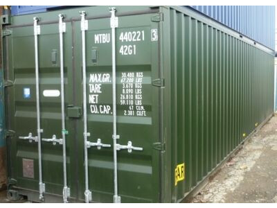 SHIPPING CONTAINERS 40ft ISO 39469