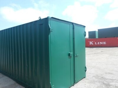 SHIPPING CONTAINERS 20ft high cube S1 doors