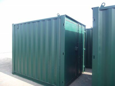 SHIPPING CONTAINERS 10ft S3 doors 67234