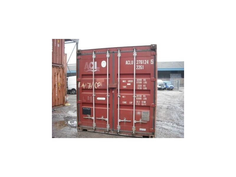 SHIPPING CONTAINERS 40ft original 64967 click to zoom image