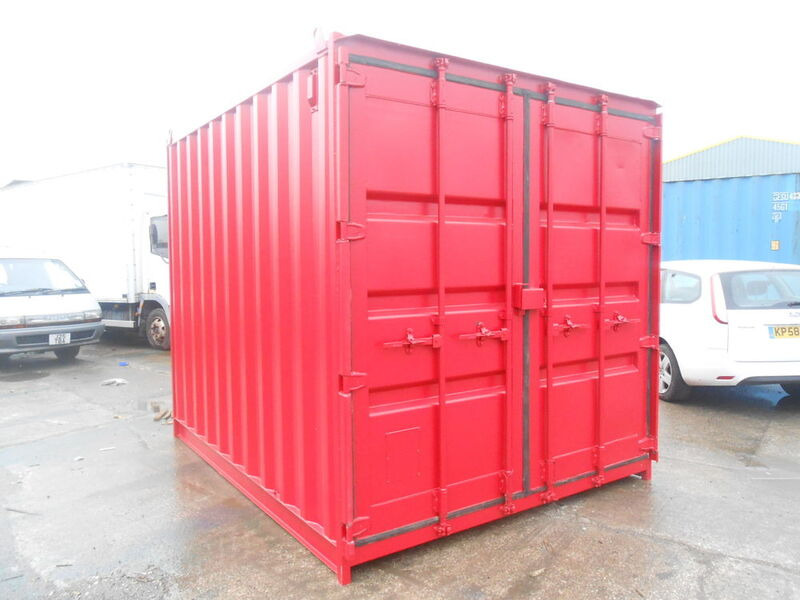 SHIPPING CONTAINERS 10ft high cube 61519 click to zoom image