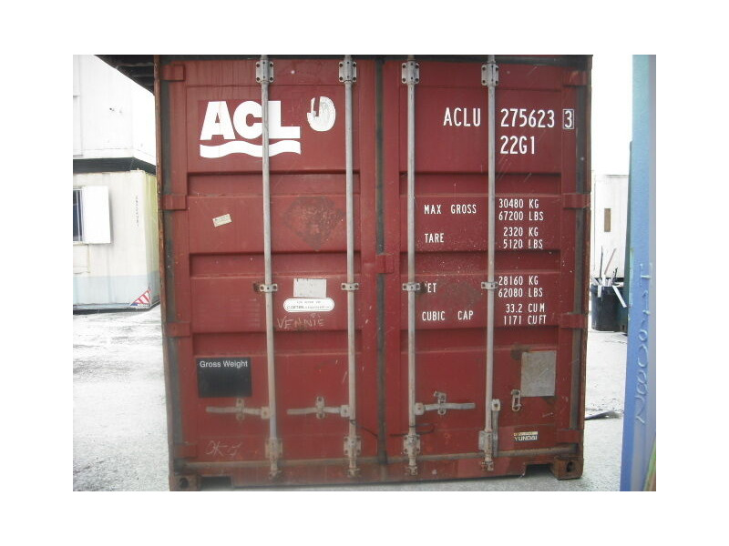 SHIPPING CONTAINERS 20ft original 24800 click to zoom image
