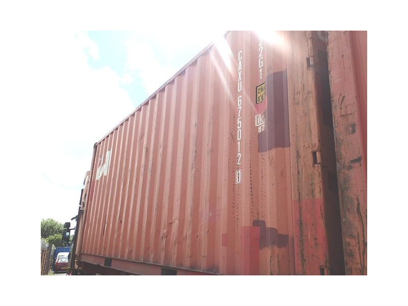 SHIPPING CONTAINERS 20ft original doors 44116 click to zoom image