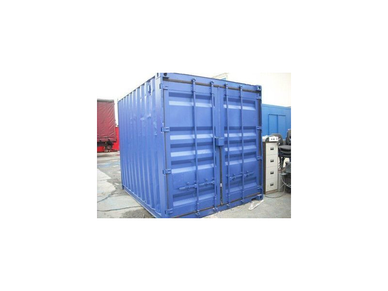 SHIPPING CONTAINERS 10ft S2 doors 30235 click to zoom image