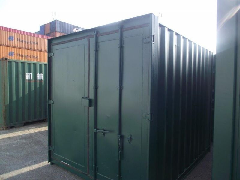 SHIPPING CONTAINERS 10ft S3 doors 25893 click to zoom image
