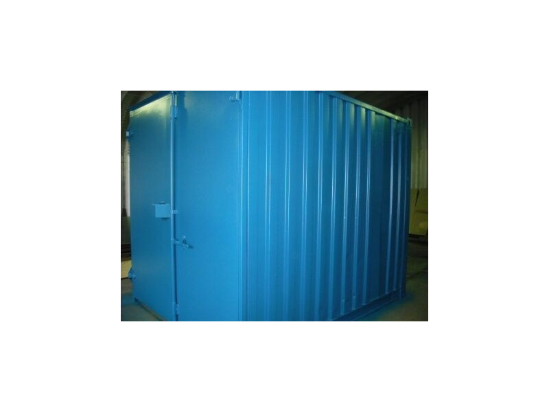 SHIPPING CONTAINERS 10ft S1 doors 15403 click to zoom image