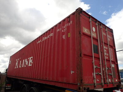 SHIPPING CONTAINERS 40ft original 35204