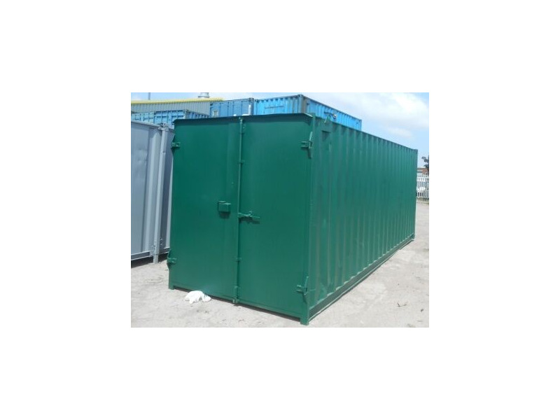 SHIPPING CONTAINERS 20ft S1 doors 24904 click to zoom image
