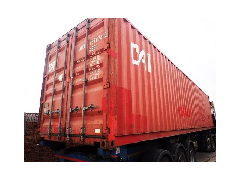 SHIPPING CONTAINERS 20ft original doors 62207 click to zoom image