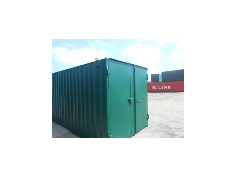 SHIPPING CONTAINERS 20ft high cube S1 doors 63638 click to zoom image